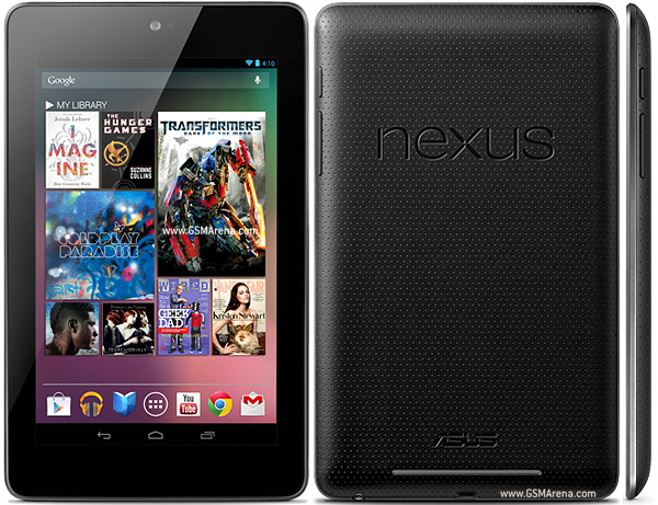 Asus Google Nexus 7 pictures, official photos