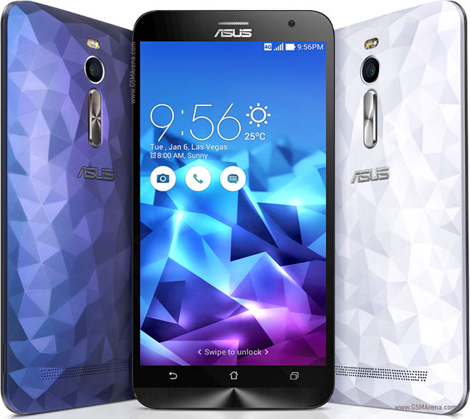 Asus Zenfone 2 Deluxe ZE551ML Pictures Official Photos