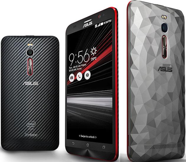 Asus Zenfone 2 Deluxe ZE551ML Pictures Official Photos