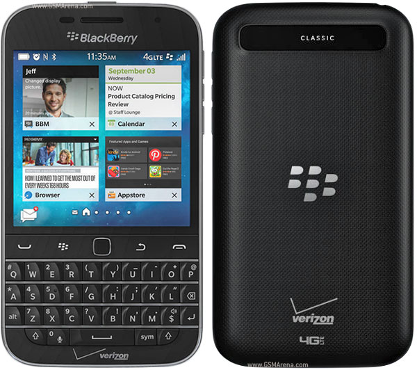 BlackBerry Classic Non Camera pictures, official photos