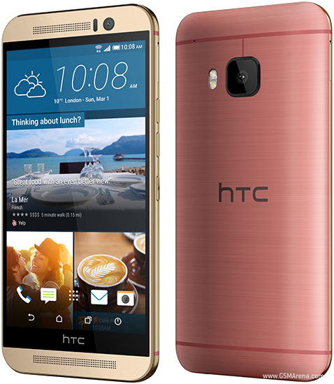 HTC One M9 pictures, official photos