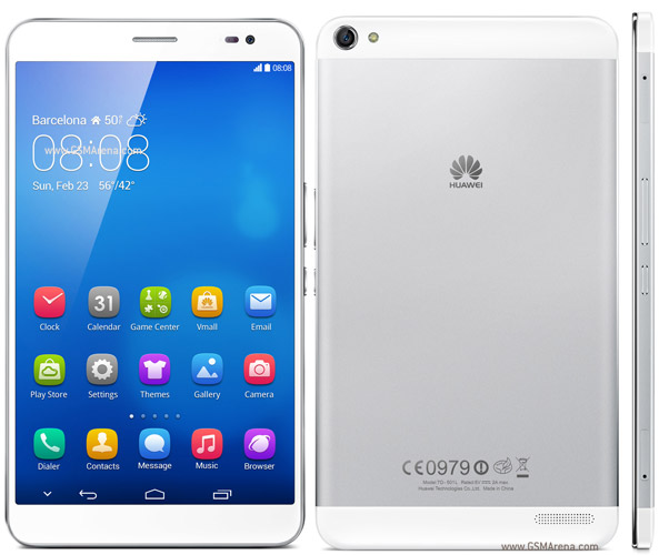 Huawei MediaPad X1 pictures, official photos