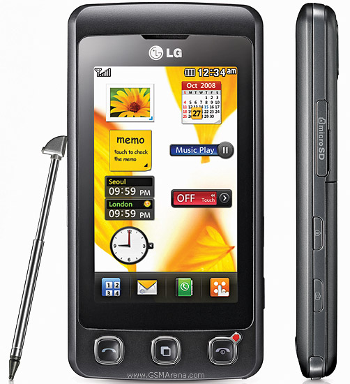 LG Phones Touch Screen