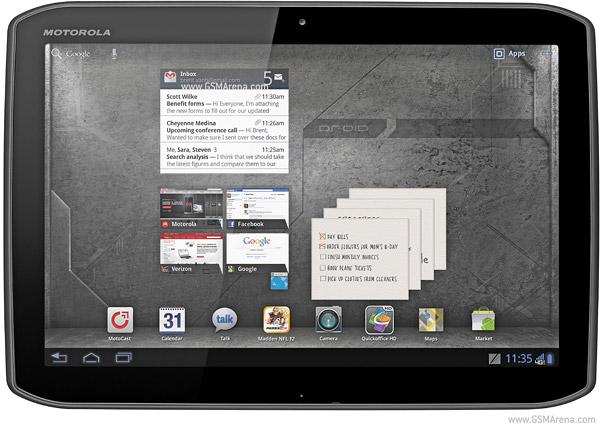 Motorola DROID XYBOARD 10.1 MZ617