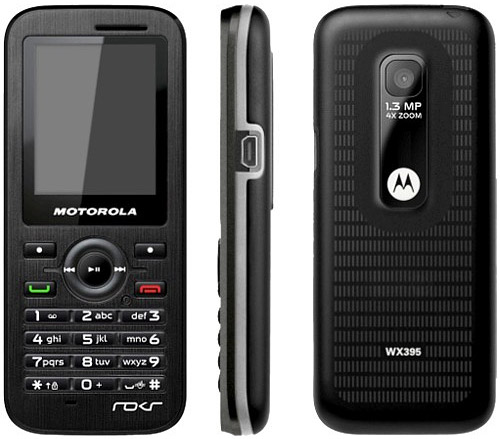 Motorola WX395