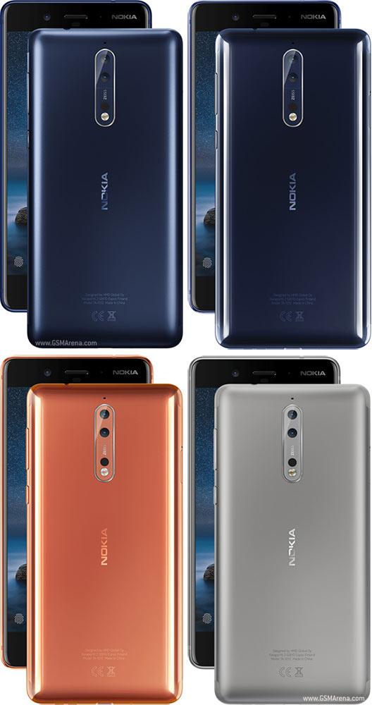 Nokia 8 pictures, official photos