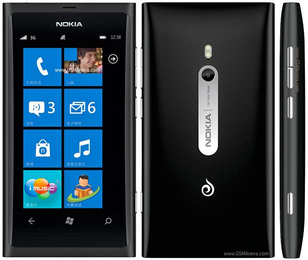 Nokia 800c pictures, official photos