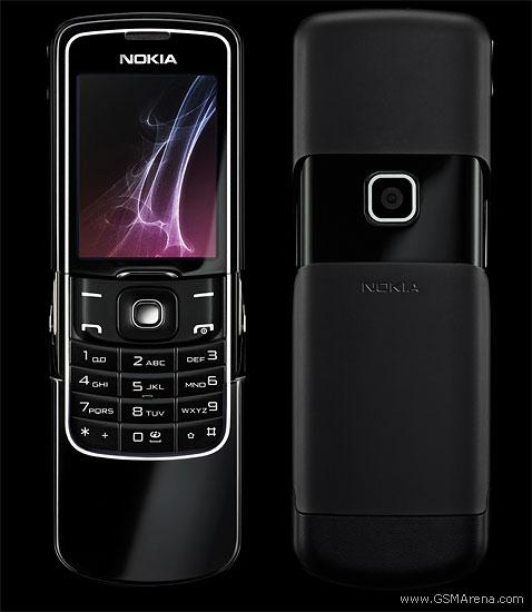 Nokia 8600 Luna pictures, official photos