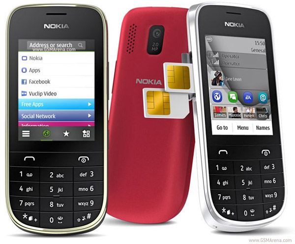 Nokia Asha 202 pictures, official photos