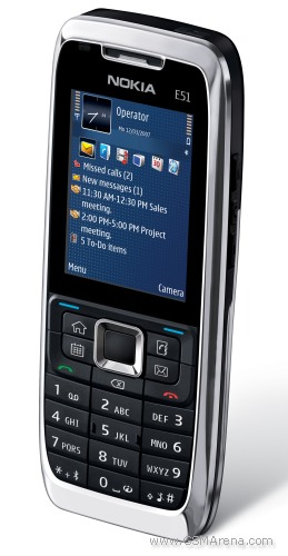 Nokia E51 pictures, official photos