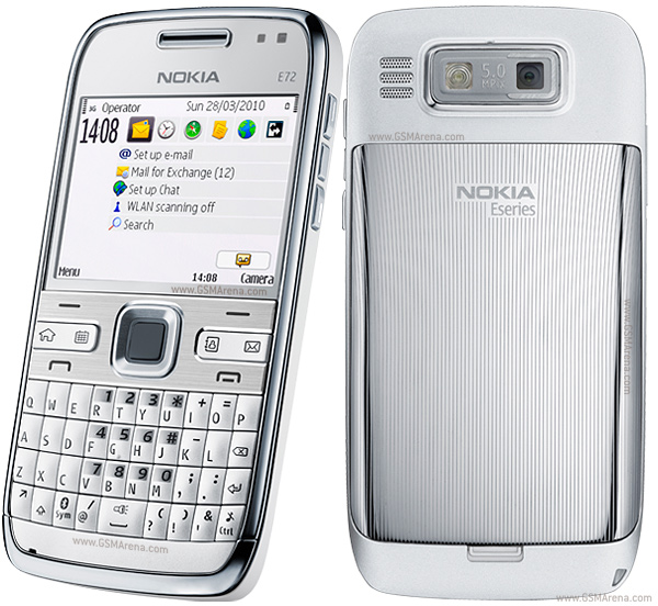Nokia E72 pictures, official photos