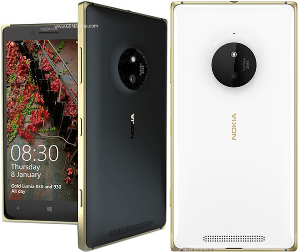 Nokia Lumia 830 Pictures Official Photos