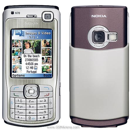 Nokia N70 Pictures  Official Photos