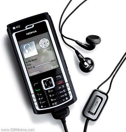 Nokia N72 pictures, official photos