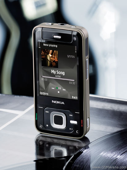 Nokia N81 8GB pictures, official photos