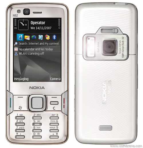 Nokia N82 pictures, official photos