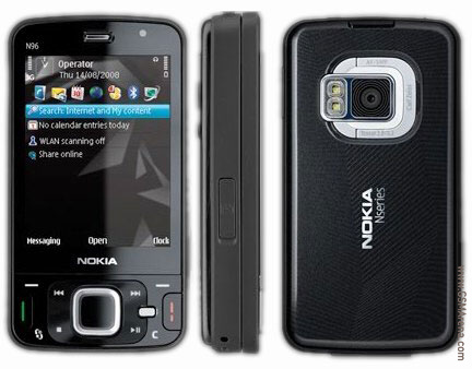 Nokia N96 pictures, official photos