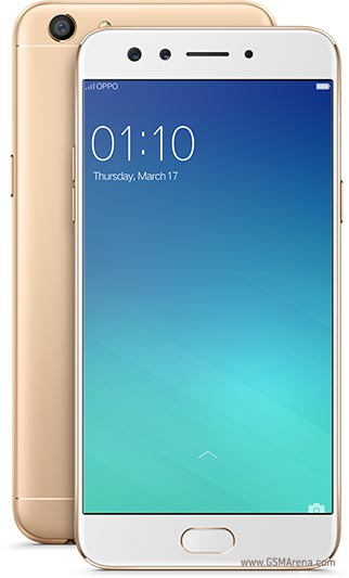 OPPO F3 in Gold variant