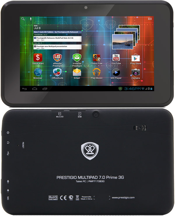 Prestigio Multipad 7 0 Prime Duo 3g Pictures Official Photos