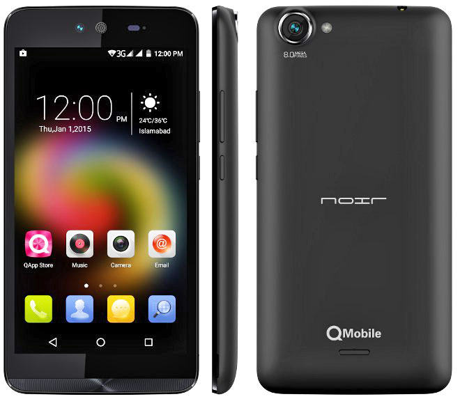 QMobile Noir S2 pictures, official photos