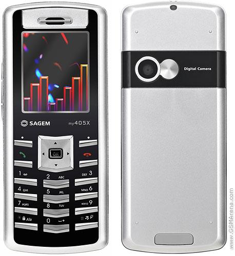 Sagem my405X
