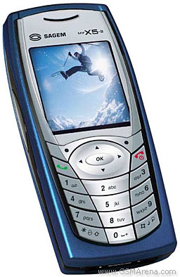 Sagem MY X5-2 - Full phone spe...