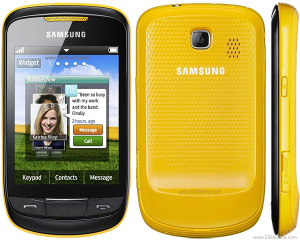 samsung s3850 corby ii pictures official photos