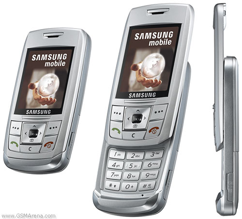 Samsung E250 pictures, official photos