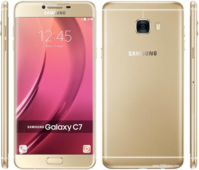 Samsung Galaxy C7 pictures, official photos