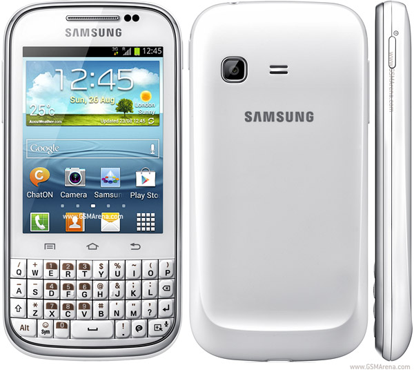 Samsung Galaxy Chat B5330 pictures, official photos