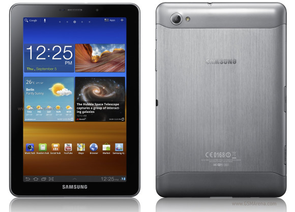 Samsung P6810 Galaxy Tab 7.7 pictures, official photos