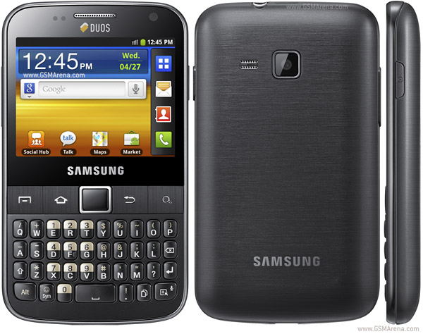 Samsung Galaxy Y Pro Duos B5512