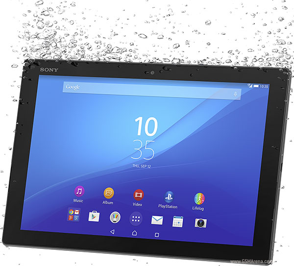Sony Xperia Z4 Tablet LTE pictures, official photos