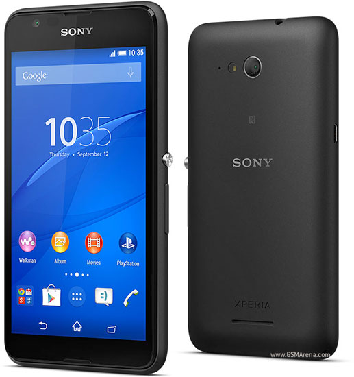 Sony Xperia E4g pictures, official photos