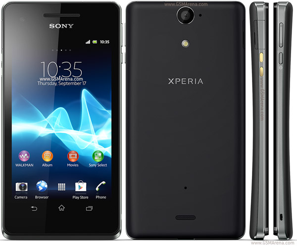 Sony Xperia V pictures, official photos
