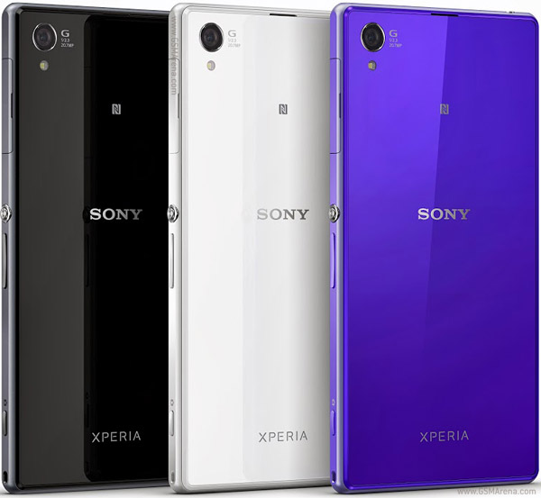 Sony Xperia Z1 pictures, official photos