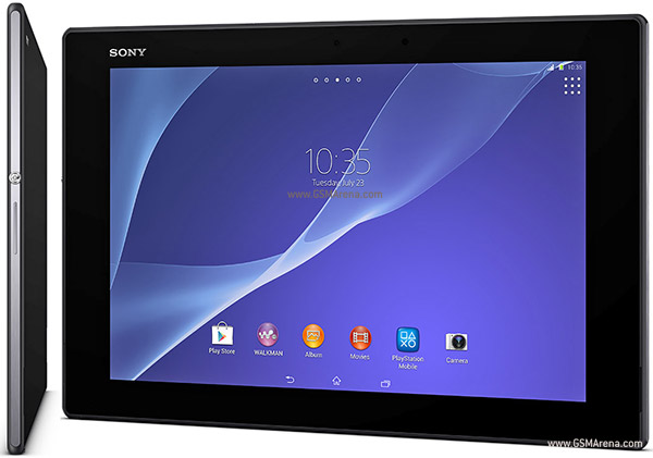 sony xperia z2 tablet lte pictures official photos. Black Bedroom Furniture Sets. Home Design Ideas