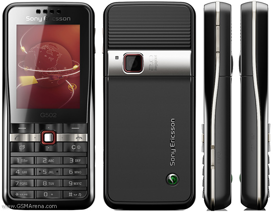 Sony Ericsson G502 Pictures  Official Photos