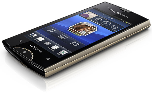 Sony Ericsson Xperia ray pictures, official photos