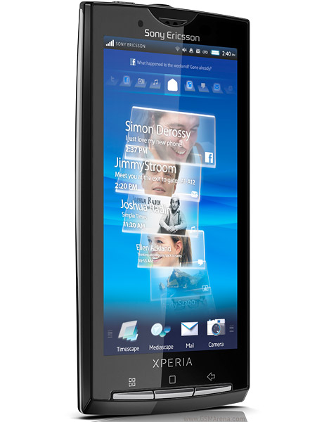 sony ericsson xperia x10 full phone specifications