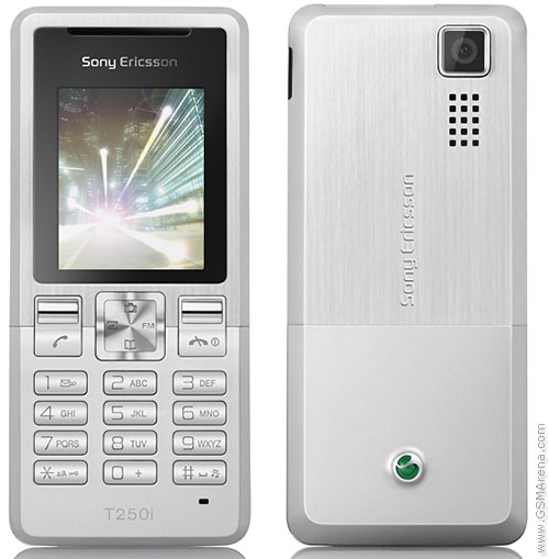 Sony Ericsson T250 pictures, official photos