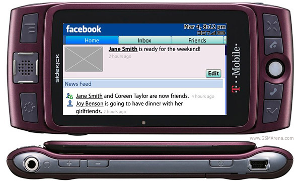 T-Mobile Sidekick LX 2009
