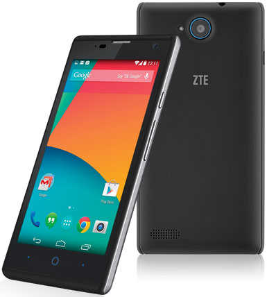 typical zte blade g and Mike both