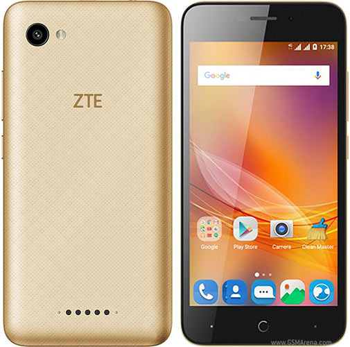 The zte blade a601 black has