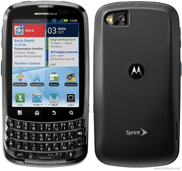 Motorola Admiral XT603