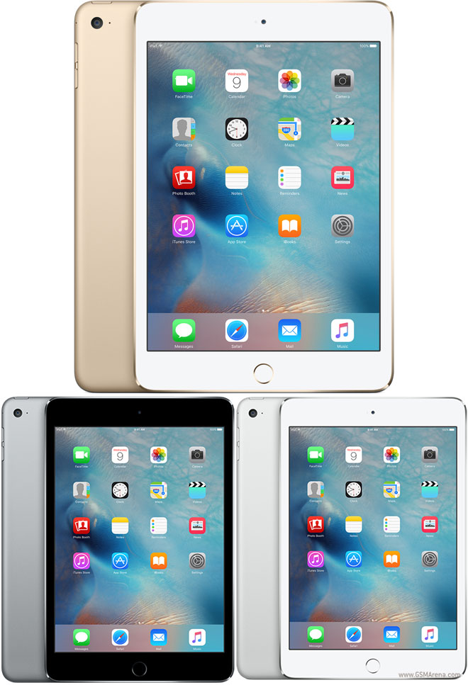 Apple Ipad Mini 4 Pictures Official Photos