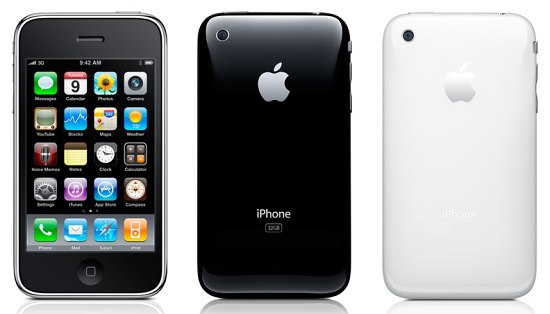 Apple iPhone 3GS pictures, official photos