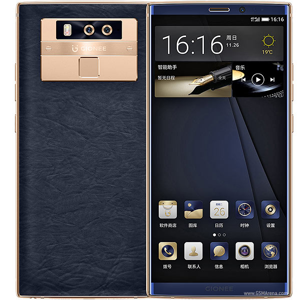 Gionee M7 Plus pictures, official photos