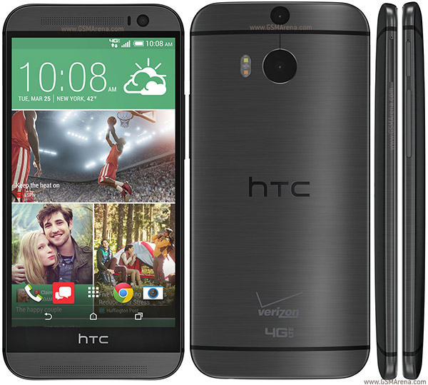 HTC One (M8) CDMA pictures, official photos