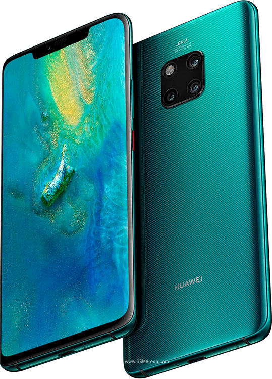Mobile and Smartphones  Huawei  (Promo) Huawei Mate 20 Pro Dual sim LTE Emerald Green